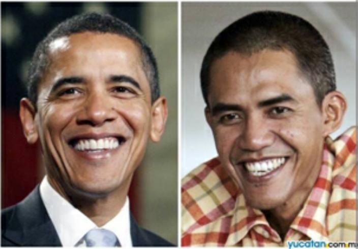 Découvrez le photographe indonésien qui est devenu célèbre pour sa ressemblance avec Barack Obama (photos)