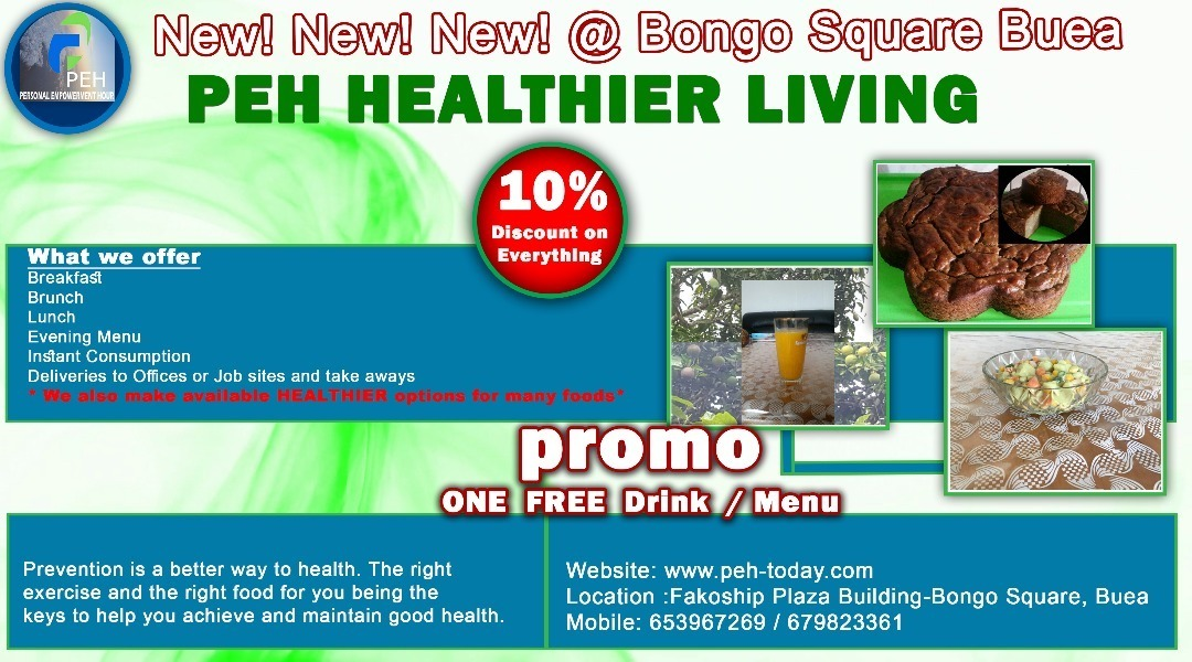 """Meet Dr  Nkeng Sone And The Budding """"PEH Healthy Living"""