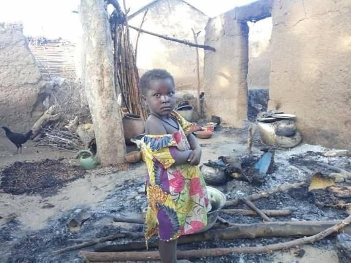 Burnt Houses Anglophone Crisis - Cameroon