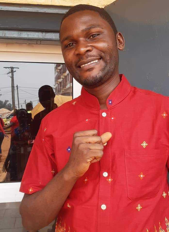 Cameroonian Journalist Laarry Uchenna