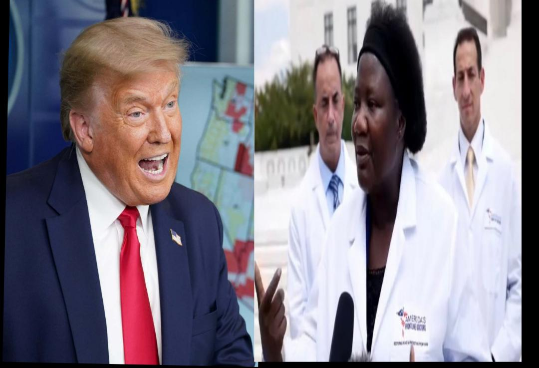 Trump Supports Dr. Stella's Claim That Hydroxychloroquine Treats Covid-19