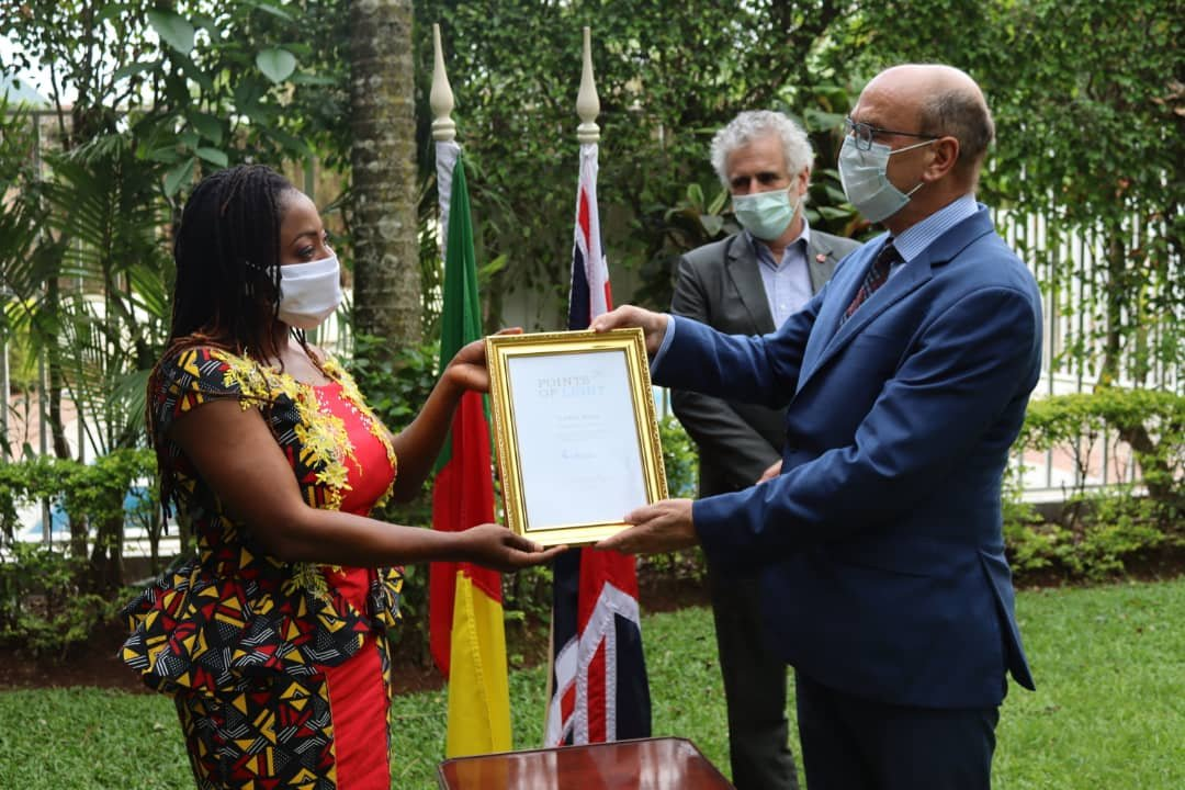 Comfort Mussa Gets Exceptional Award From Queen Of England