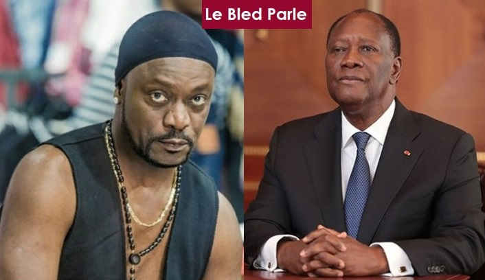 Ivorian Artist Meiway Confronts President Allasane Ouatara To Step Down